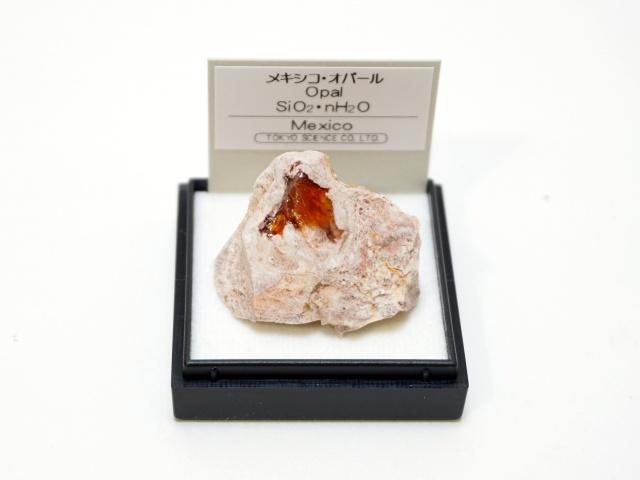 【1008-10】10月の誕生石/メキシコオパール/メキシコ産/ミニ鉱物標本