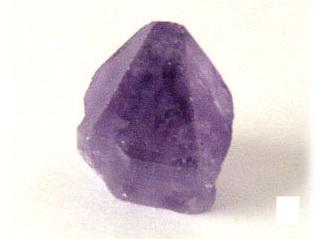 【382-C】アメジストポイント原石 (約3cm×4cm)