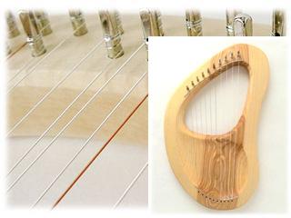 ザーレム/キンダーハープ/10弦/ダイアトニック/専用弦
