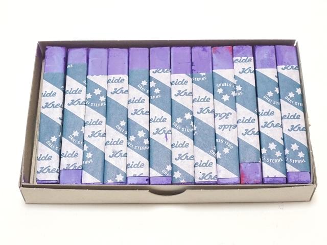 チョーク・青紫
