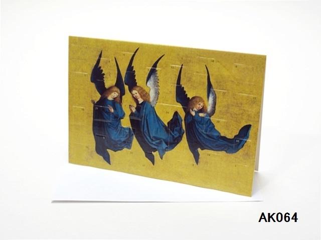 【561】Rafferel-Verlag/アドベントカレンダーno.AK064(A5)/アドヴェントカレンダー