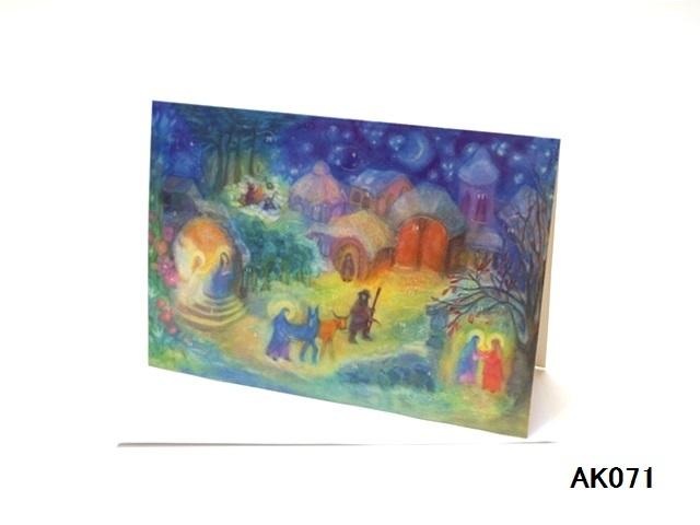 【561】Rafferel-Verlag/アドベントカレンダーno.AK071(A5)/アドヴェントカレンダー