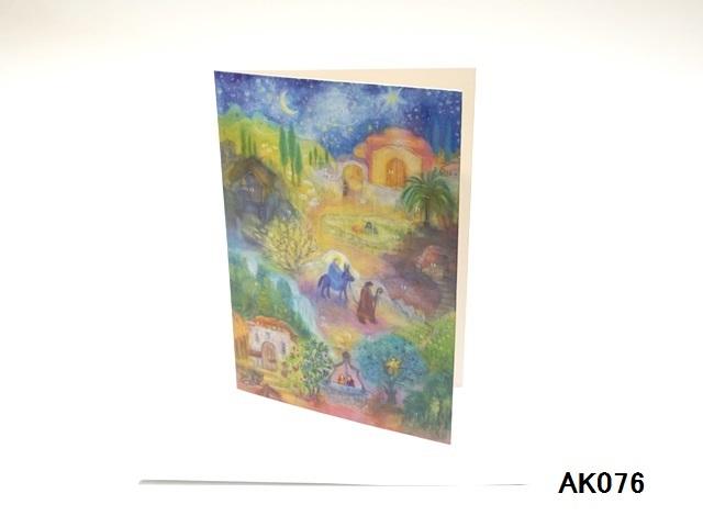 【561】Rafferel-Verlag/アドベントカレンダーno.AK076(A5)/アドヴェントカレンダー