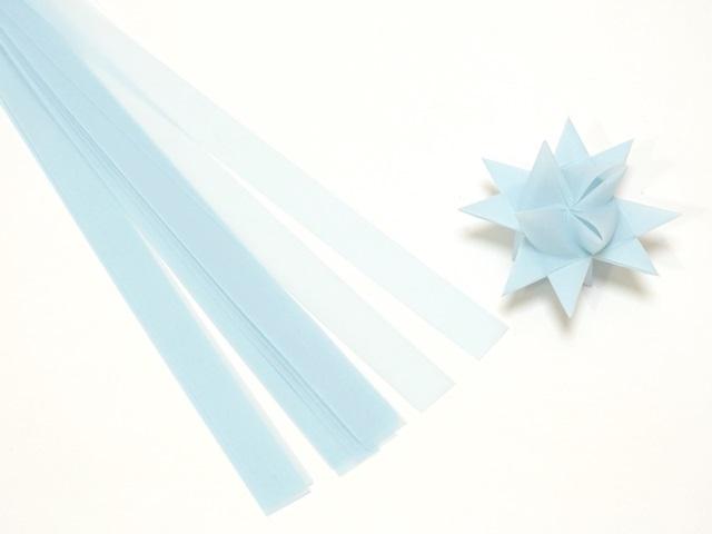 【939-5】フレーベルの星用ペーパー/1.5cm×44cm /20枚入/ライトブルー