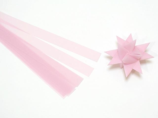 【939-4】フレーベルの星用ペーパー/1.5cm×44cm /20枚入/ピーチ