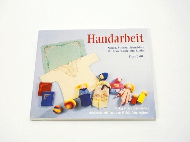 【1048】Handarbeit/羊毛の手作り本(型紙付き)