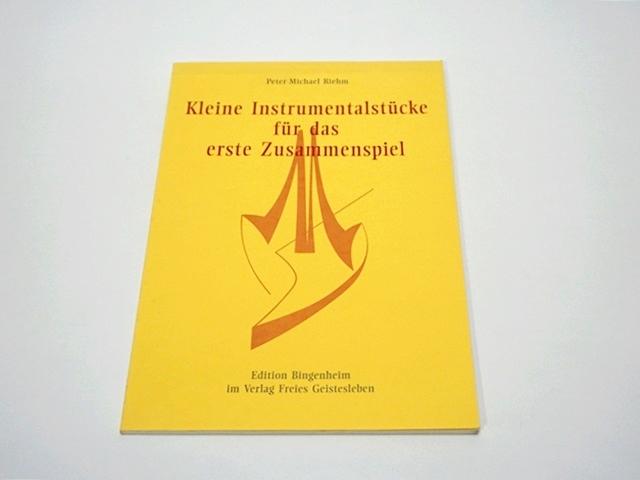【1050】Kleine Instrumentalstucke fur das erste Zusammenspiel/楽譜