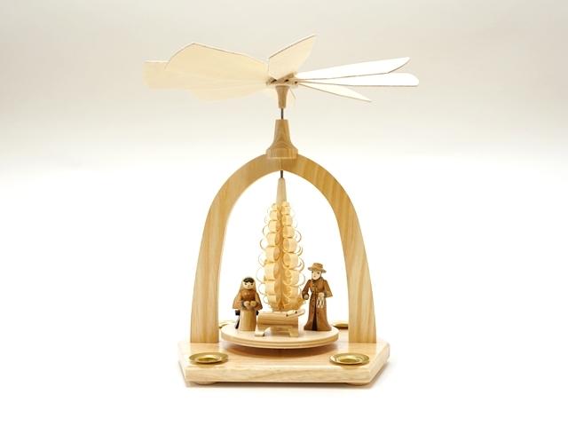 【1019】Albin Preisslerアルビンプライスラー/クリスマスピラミッド/聖家族
