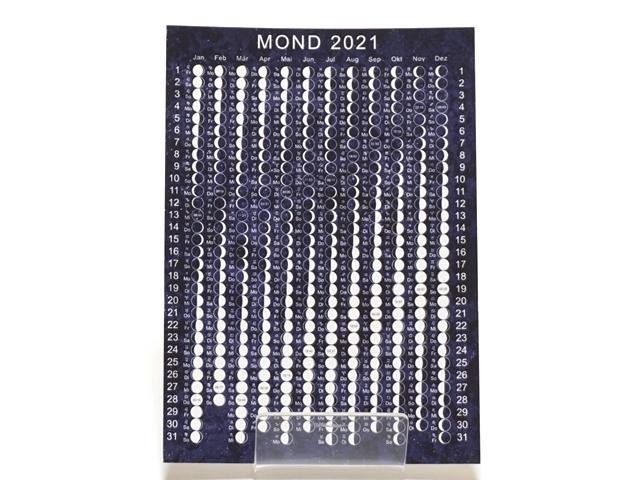 月のカレンダーポストカード