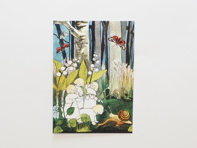 【1130】エルサ・ベスコフ/Elsa Beskow/ポストカード