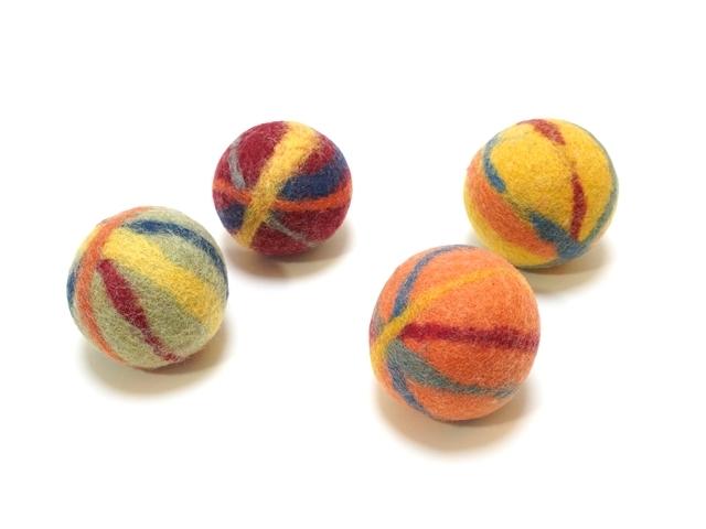 【303】フェルトのジャグリングボール