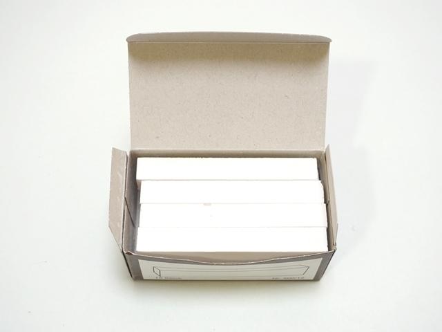 【024】カラーチョーク12本セット/白