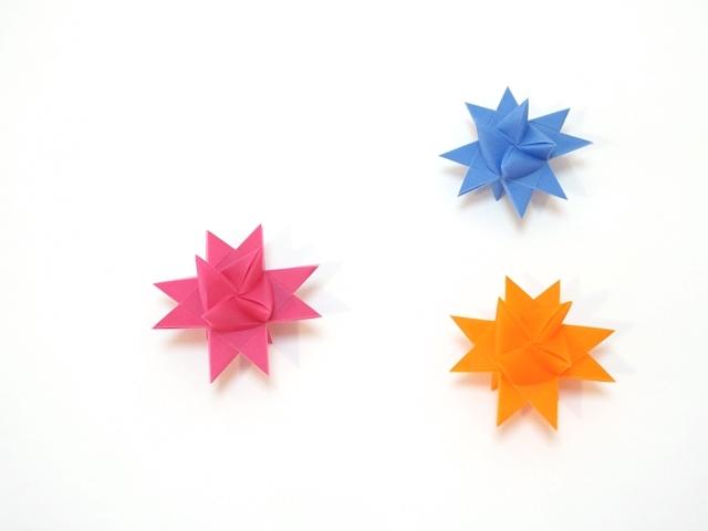 フレーベルの星 1.5センチ3色