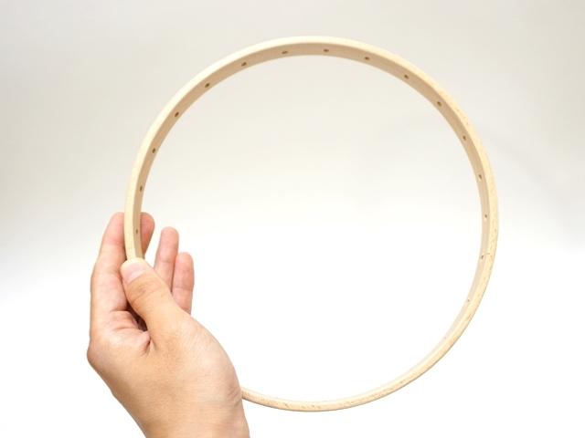 円形織り機のサイズ感