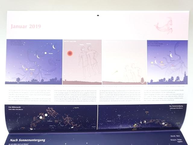 星座のカレンダー2019年版5