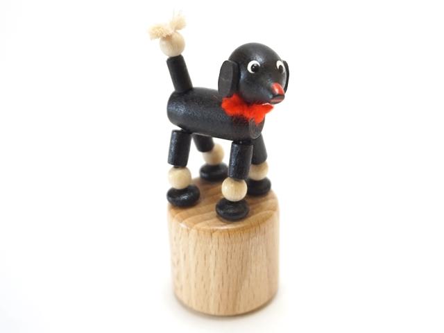 おじぎ人形いぬブラック1