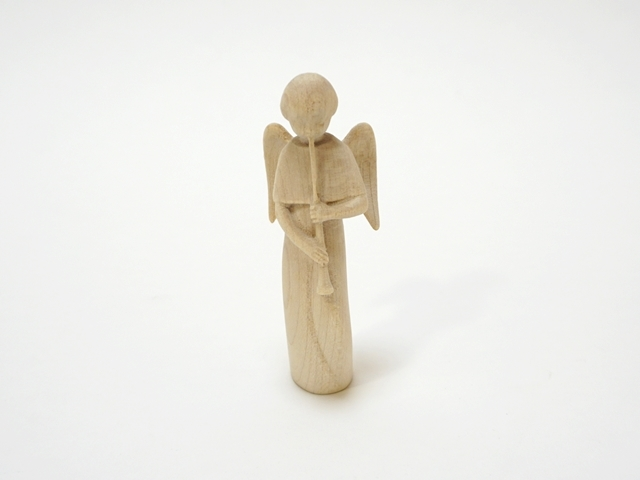 木の天使・ホルン・特価品