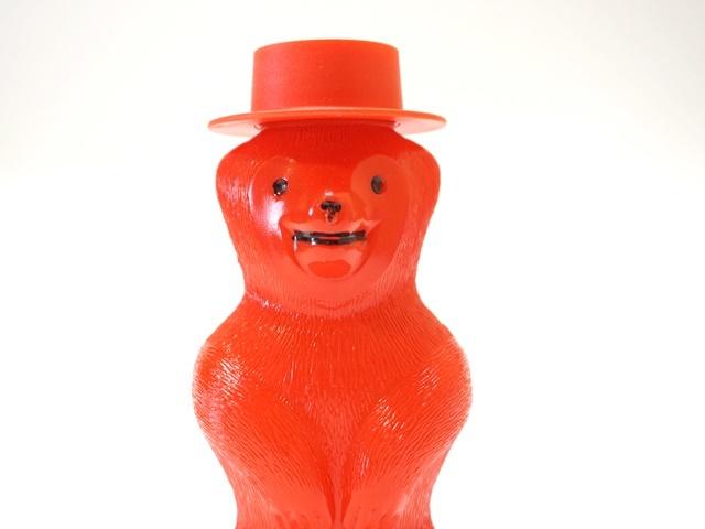 クマのシャボン玉・赤・アップ