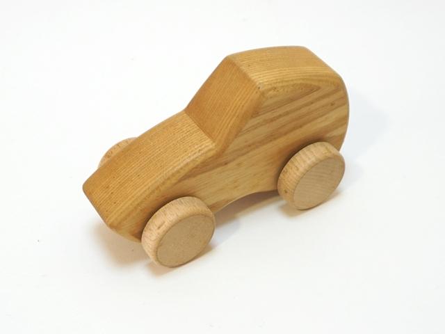 サンプル木の車1
