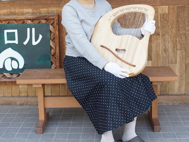 ザーレムソロソプラノライア39弦・サイズ感