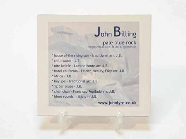ライアCD/pale blue rock/John Billing/ジョンビリング2