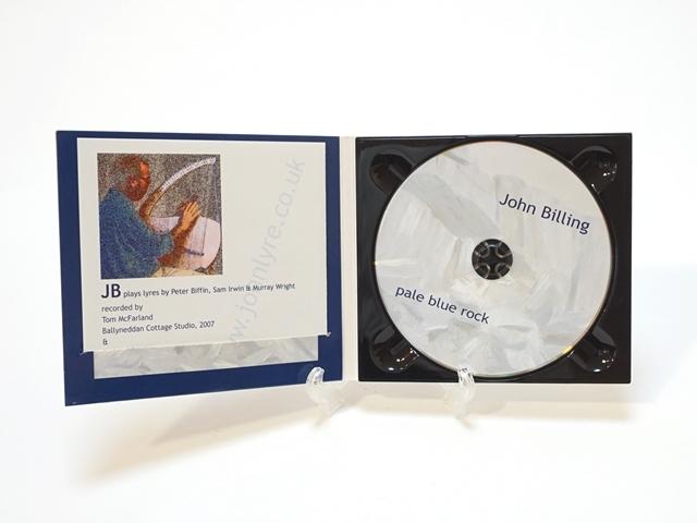 ライアCD/pale blue rock/John Billing/ジョンビリング3