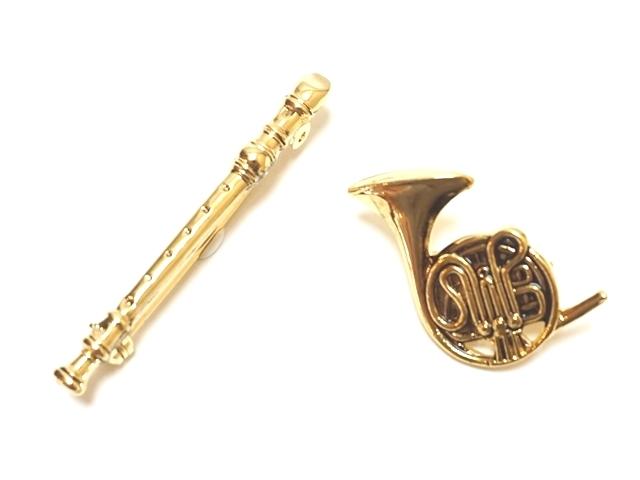楽器ブローチ