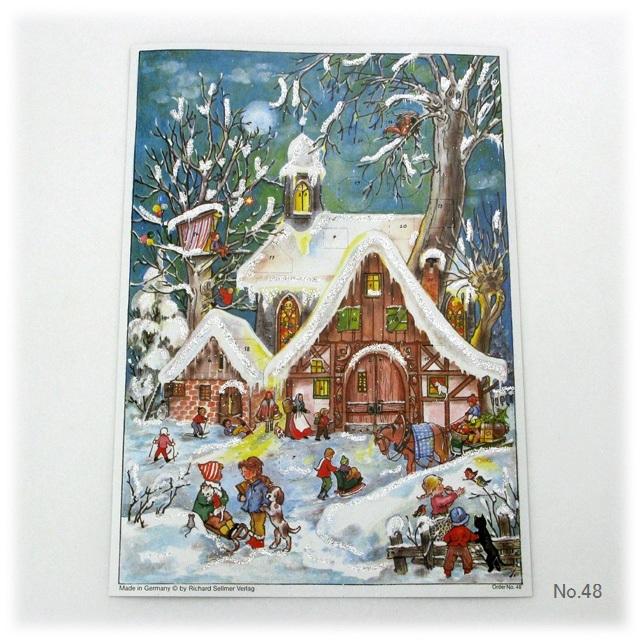 【929】リヒャルトセルマー/アドヴェントカレンダーno.48(A4たて)/アドベントカレンダー