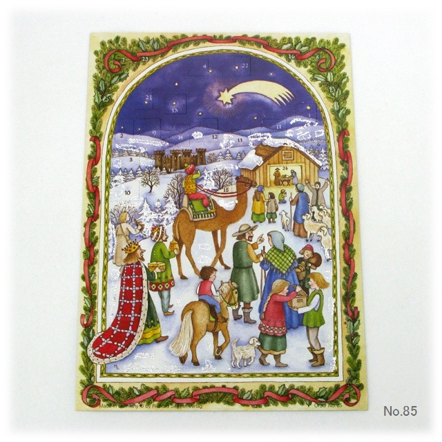 【929】リヒャルトセルマー/アドヴェントカレンダーno.85(A4たて)/アドベントカレンダー