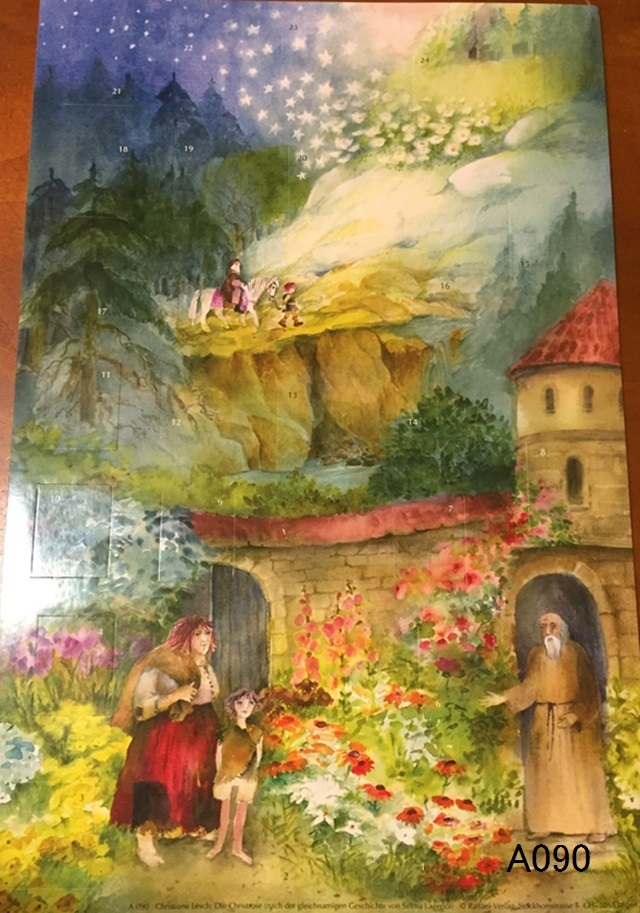 【561】Rafferel-Verlag/アドベントカレンダーno.090/アドヴェントカレンダー