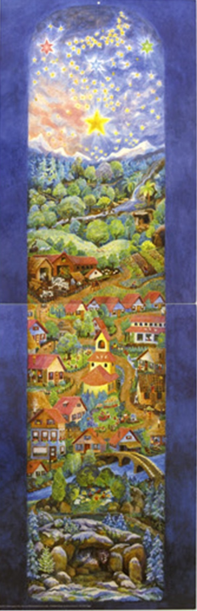 【561-H】Rafferel-Verlag/アドベントカレンダー(A011)/アドヴェントカレンダー