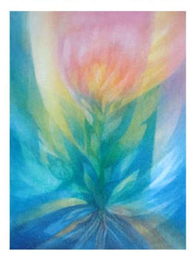 【460-4】アレキサンダー・ヴィンター/絵のギャラリー<植物的なもの/水彩>