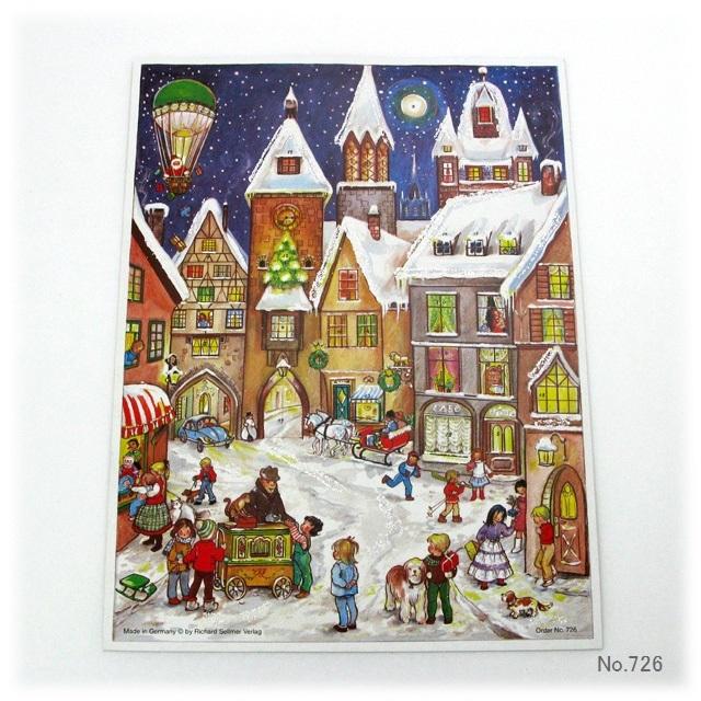 【930】リヒャルトセルマー/アドヴェントカレンダーno.726(B4)/アドベントカレンダー