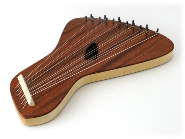 【862】【受注発注】コロイ/ボルドゥンライアー(ボーデンライアー)16弦
