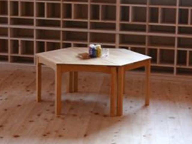 台形テーブル