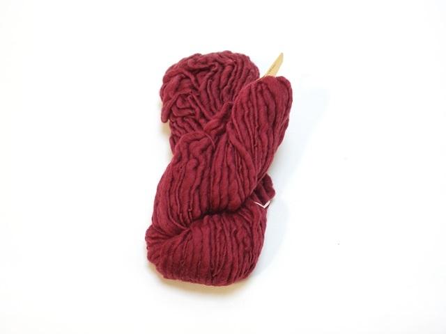 【129-A2】草木染毛糸ホームスパン(100g巻き)バイオレット/製造中止/在庫限り