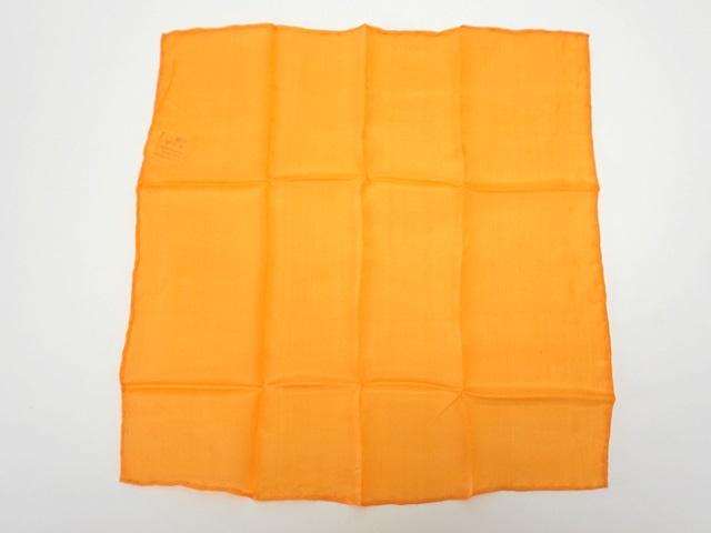 【004】カラーシルク/オレンジ