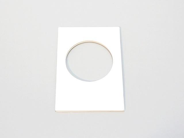 【172-F】ローズウィンドウ用枠/ハガキ(内径7cm)(2枚1セット)