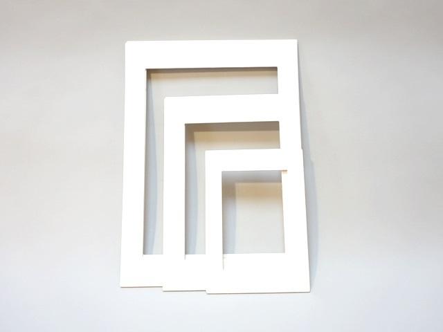 【172】ローズウィンドウ/長方形枠/トランスパレント絵枠