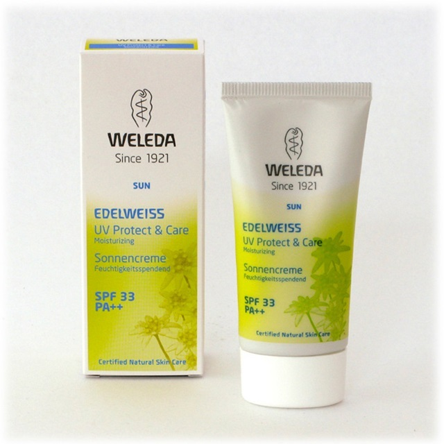 WELEDA ヴェレダ/エーデルワイスUVプロテクト50ml