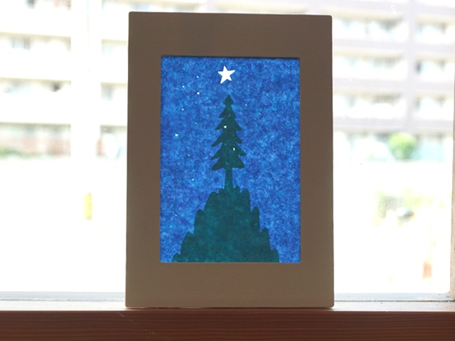 【612】ローズウィンドウ/モミの木(クリスマスツリー)