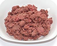 野生丹波鹿ナチュラルディアシリーズ【骨ミンチ】(冷凍生食)