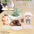 ペット供養 メモリアル 写真から作る メモリアル2Dフィギュア 【ネコポス対応】