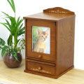 【送料無料】ペット仏壇 ペット骨壷も納まる Natural Box 2色 かわいい仏壇 ケース