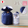 ペット骨袋 骨壷カバー デニム 3.5寸 【ネコポス対応】