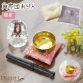 ペット 仏具 おりん かわいいお花柄 角布団 おりんセット 国産 桜特集