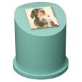 ペットのお墓ペットカロート丸型写真陶板フルカラー100