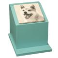 ペットのお墓ペットカロート角型写真陶板モノクロ150