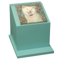 ペットのお墓ペットカロート角型写真陶板フルカラー150