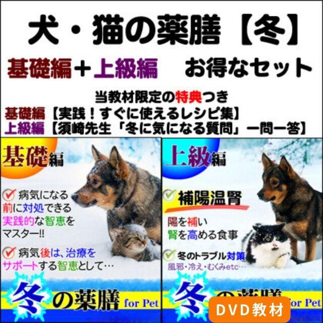 犬猫の薬膳冬2015基礎+上級セット